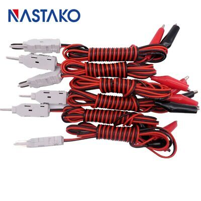 1Pc 110 test head to alligator clip RJ11 voice test leads MDF check test cord
