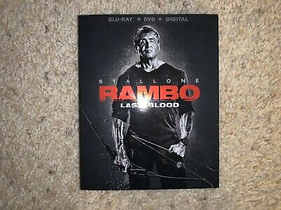 Rambo: Last Blood (Blu-ray + DVD + Digital)