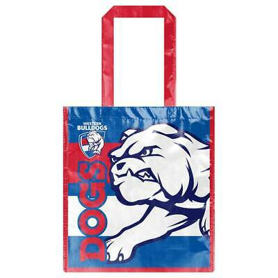 Western Bulldogs Laminated Bag