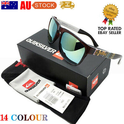 Quiksilver Stylish Men Women Outdoor Sports Casual Sunglasses UV400 AU STOCK