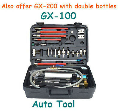 Automotive Non-Dismantle Cleaner Fuel Injector Clean Air Intake GX100 Single