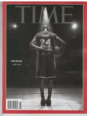 Kobe Bryant 1978-2020 - Time Magazine - February 10, 2020 - Sold Out RARE