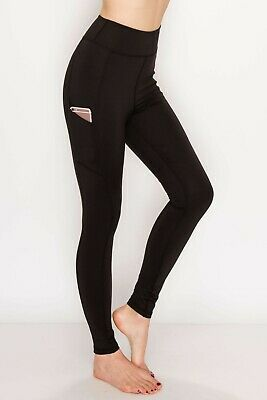 High Waist Premium Yoga Pants Tummy Control Gym Fitness Workout Leggings