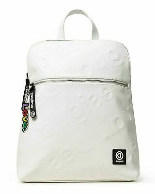 Desigual Sport Fitness Sac à dos Daypack backpach geopatch Blue 18wqxw23//5189