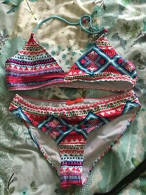 Girls Red Bikini Age 16 Excellent condition