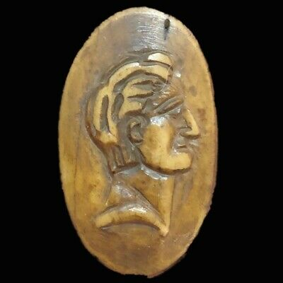 VERY RARE ANCIENT ROMAN PERIOD BUST PENDANT 2nd-3rd Cent AD (1)