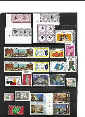 Commonwealth collection MNH and used early to modern