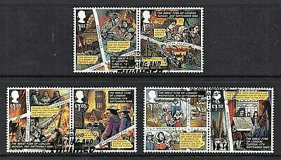 GB Stamps 2016 'Great Fire of London' - Fine used