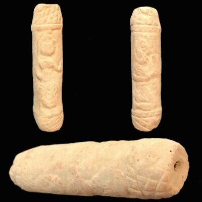 Ancient Terracotta Harappa Indus Valley Cylinder Artefact 2500-2000 B.C. (2)