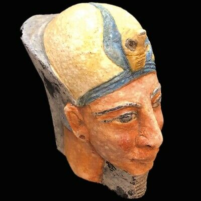 Egyptian Bust Statue, Late Period 664 - 332 Bc (3)