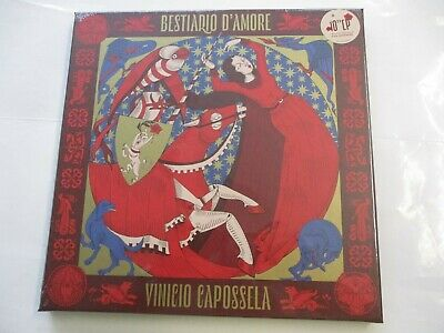 "Vinicio Capossela - Bestiario D'amore - 10"" Black Vinyl New Sealed Boxset 2020"