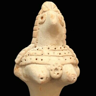 Top Quality Ancient Indus Valley Female Fertility Goddess Figurine (7)