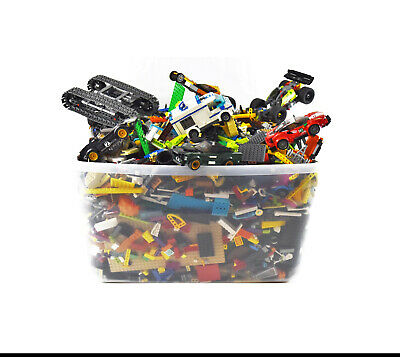 """""""35 lbs."""" of LEGO Parts w/Variety of Pieces, Mini Figures, Sets & Bricks (0321)"""