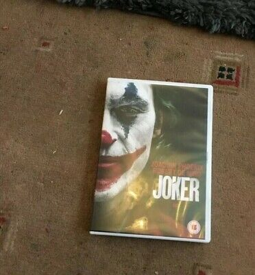joker dvd with sleeve Cover (Joaquin Phoenix)