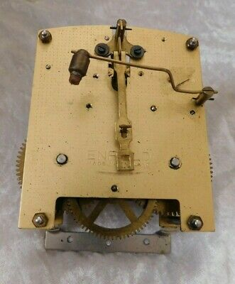 Enfield vintage mantel clock movement for repair or spares