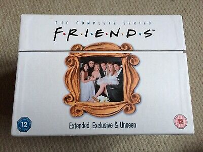 Friends The Complete Series 1-10 DVD Boxset