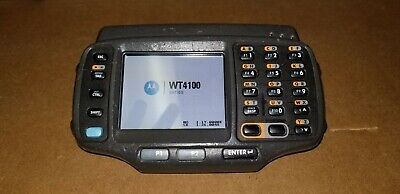 Motorola SYMBOL WT41N0 WT4100 Wireless Barcode Scanner with Battery **MAKE OFFER