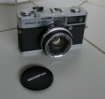 Olympus 35 SP Film Camera  Lens G.Zuiko 1.7 / 42 mm (N5555)