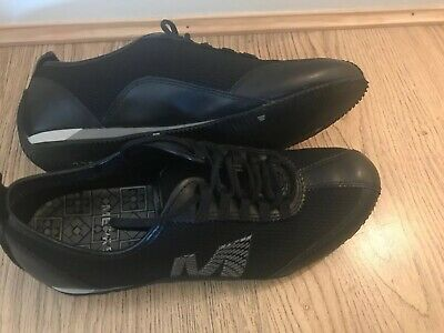 MERRELL Mambo Black Performance Footwear Trainers in Leather & Mesh UK 4.5