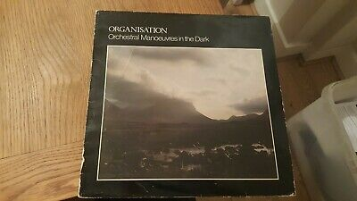 ORCHESTRAL MANOEUVRES IN THE DARK OMD - Organisation 1980 Vinyl LP Album Record