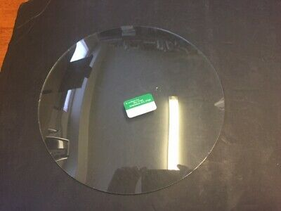 "Spare clock convex clear glass . Circular 9 "" diameter"