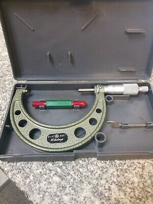 """Mitutoyo 3-4"""" .001""""  Mdl 103-180 Micrometer Good Condition"""