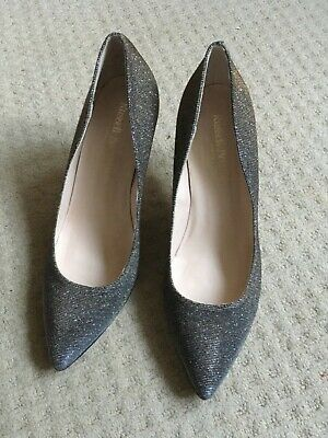 Russell And Bromley Shoes, Uk5 Eu38, Worn Once, 85Pump, Glitter Metallic Finish
