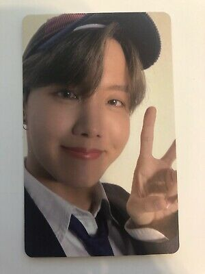 BTS - Map of the Soul 7 Hoseok Jhope Photocard Ver 1Official