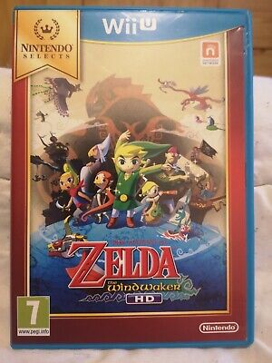 The Legend Of Zelda : The Wind Waker HD jeu Wii U