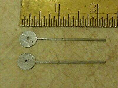 2 New Old Stock Longcase  Steel Seconds--Date Hands--(M) -- Free Uk Post