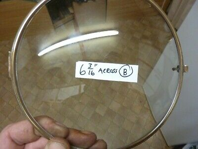 Good Old Bracket -Mantle Clock Brass Bezel & Convex Glass (B)