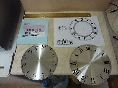 Useful Lot - Clock Dials-Transfers Etc -- Free Uk Post