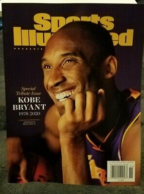 Kobe Bryant Sports Illustrated Magazine Special Tribute Issue 2020