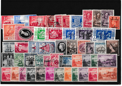 A Very Good Lot Of British Commonwealth Stamps In Mint Or Fine Used 63*4