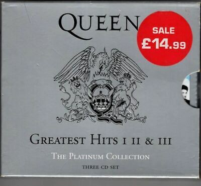 Greatest Hits I II & III (The Platinum Collection) : Queen