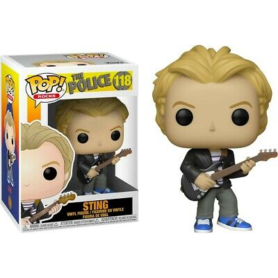 The Police Sting POP Rocks #118 Vinyl Figure FUNKO