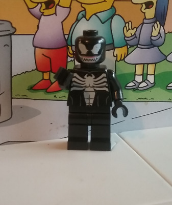 Marvel Super Heroes Lego mini figure VENOM 10665 juniors used