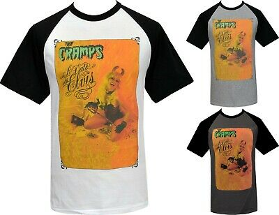 MENS T-SHIRT THE CRAMPS DATE WITH ELVIS PSYCHOBILLY GARAGE POISON IVY DEVIL 80s