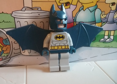 Marvel Super Heroes lego mini figure BLUE BATMAN HARD WINGS 6858