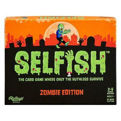 Ridley's Selfish Zombie Edition Game