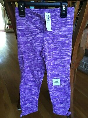 Girls Old Navy Purple Capri leggings Size Medium 8 New with tags