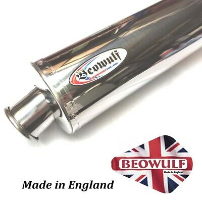 Aprilia Tuono 1000 (03-05)  Beowulf Silencer Muffler Exhaust Oval AP001OMSS45