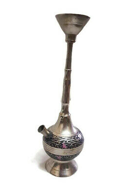 Vintage His hookah An old Silver-plated copper rare Art Crafts nice