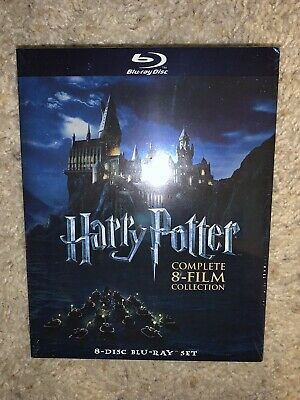 Harry Potter : complete 8 film collection (Blu-ray)