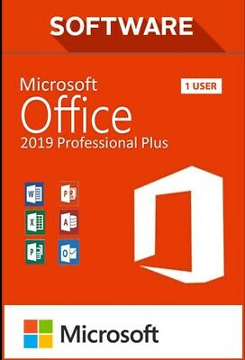 Office 2019 Professional Plus Genuine Key For License Full Version Instant Email