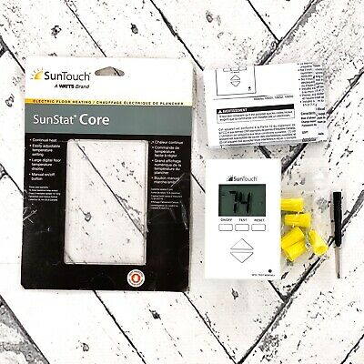 SunTouch Floor Warming SunStat Core Non-Programmable Floor Heating Thermostat