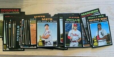 2020 Topps Heritage Short Prints SPs 401-500 - You Pick - Complete Your Set