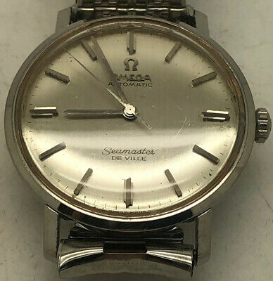 Omega Seamaster De Ville Mens Wrist Watch Cal 550 17 Jewels Stainless Steel 31mm