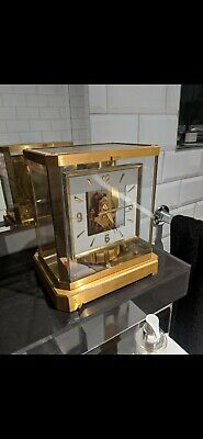 Jaeger le coultre Atmos square face clock