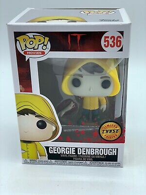Funko - IT Georgie Denbrough 536 Limited Chase Pop Figure *rare* see pics